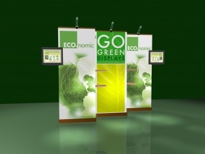 trade show displays GoGreen Displays